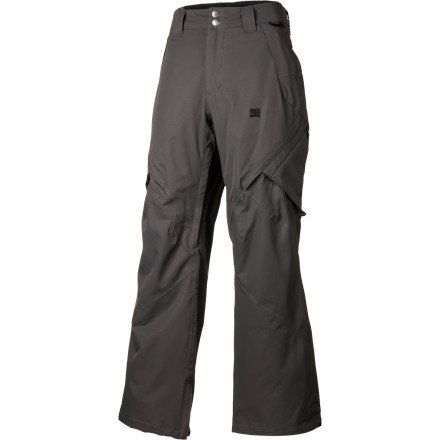 DC Men's Recon Snowboard Pant, Dark Shadow, X-Large