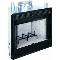 Comfort Flame B36L-M Builder Wood Burning Fireplace, 36-Inch from Innovative Hearth Products