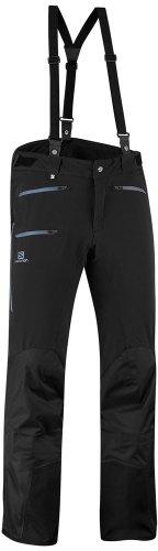 SALOMON-Pantaloni da sci da uomo, M Pantaloni-Premium, colore: nero