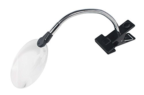 SE ML3088S Clip-On Rimless Magnifier with Bifocal Magnification