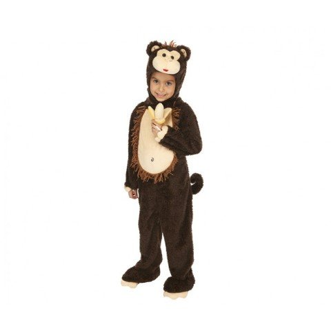 Just Pretend Kids Monkey Animal Costume, Small
