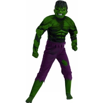 Hulk Classic Muscle Costume - Medium