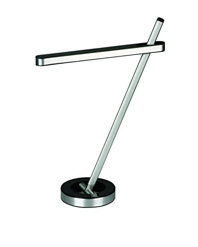 Artkalia O7 LED Desk Lamp, Glossy Black