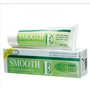 Smooth E Cream Anti-Aging Wrinkle Fade Acne Scars Spots 40G.