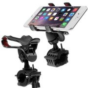 360 Degree Rotation Universal Mobile Phone Motorcycle Bicycle Handlebar Mount Holder For IPhone 6 6 Plus / LG...