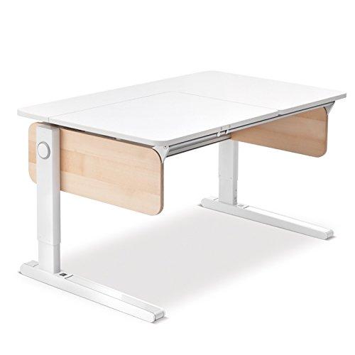 Moll Champion Style Front Up Schreibtisch | Birke Multiplex | 120 x 72 x 53-82 cm (Breite x Tiefe x Höhe) | höhenverstellbar online kaufen