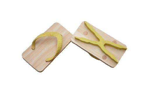 Kiko Ashiato Animal Print Toy Beach Sandals - Yellow Owl - Size Extra Small