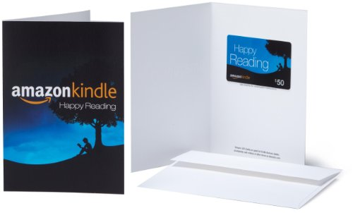 Amazon.com Gift Card with Greeting Card – $50 (Kindle) image