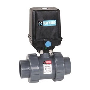Elect Actuated Ball Valve, 1-1/2 In, Fpm