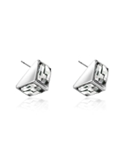Autograph Multi-Faceted Princess Cut Stud Earrings MADE WITH SWAROVSKI® ELEMENTS