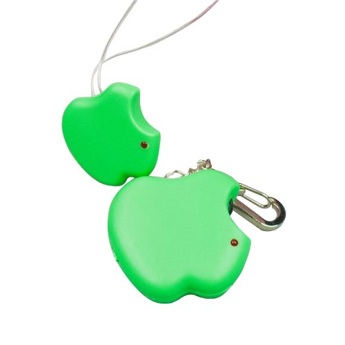 Fome Guaranteed 100% Apple Shaped Safety Anti Lost Alarm,Electronic Personal Reminder Alarm Rf Children Gps Monitor Green + Fome Gift