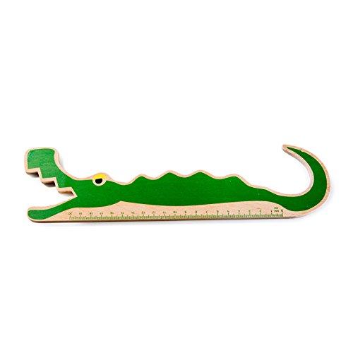 Donkey Products Lineal Krokodil Funky Ruler Kroko, Maßstab, 30 cm, Buchenholz, 900245