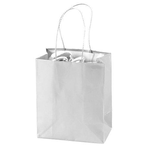 Mini Silver Gift Bags (2 dz)