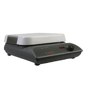 "Corning 6795-600D PC-600D Hot Plate, Digital Display, 10"" x 10"" Pyroceram Top, 40.1 x 26.9 x 26.9cm (L x W x H), 5 to 550 Degrees C, 120V/60Hz"