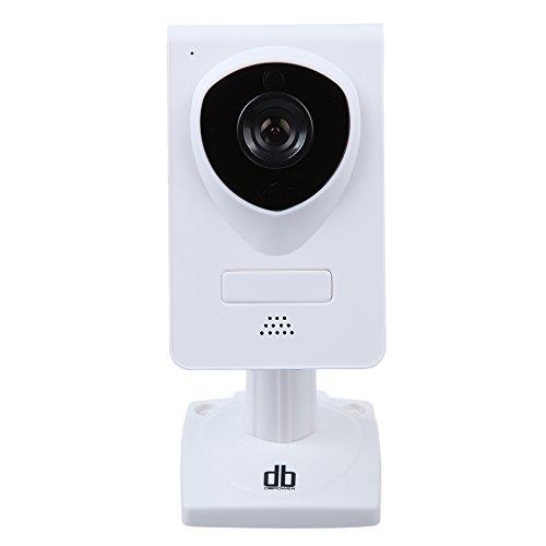 DbPower HD023P Wireless Wlan IP Kamera Überwachung IP Kamera mit Schwenk-Neige-2-Wege-Audio-Nachtsicht-IP-Netzwerk-Kamera Home Security System für MAC / Windows / Linux / Android und IPhone, Unterstützung Alarm Ausgang, Alarm per E-Mail, FTP, Web-Zugang, Free Mobile Remote Viewing