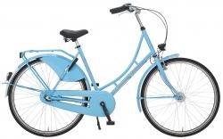 "Holland Nostalgie Damen ""Eco"" Fahrrad, hellblau, 55 cm"