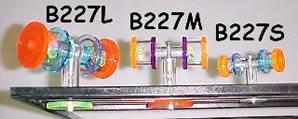 Bell Plastics B227S Spinning Barbell Small Acrylic Bird Toy