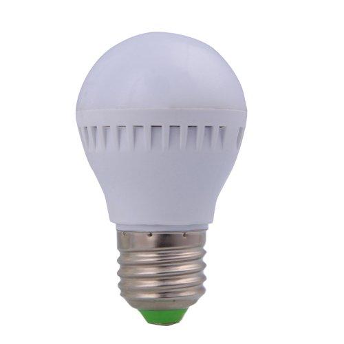 600Lm Ultra Bright 5Pcs Lot 5W Cool White Color E27 Base Led Power Globe Light Lamp Bulb 85-265V Ac