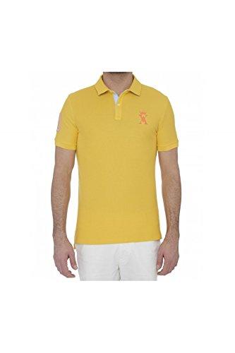 Vicomte -  Polo  - Uomo giallo 2XL