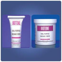 Biotone Dual Purpose Massage Creame 7 oz Tube