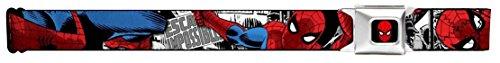 Spider-Man Marvel Comics Superhero In Action Seatbelt Belt