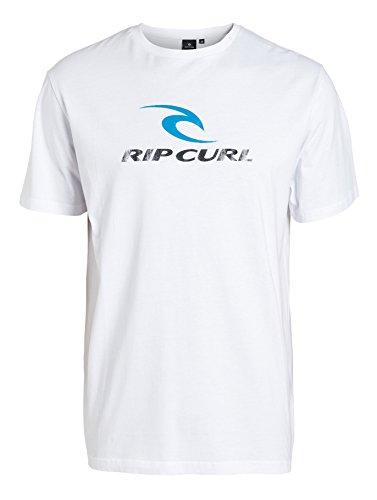 Rip Curl Corp Ss Tee Maglietta, Optical White, S