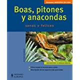 Boas, pitones y anacondas (Mascotas en casa)