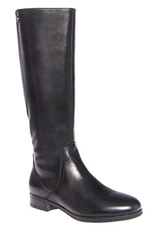 Lyon Mid Calf Low Heel Boot