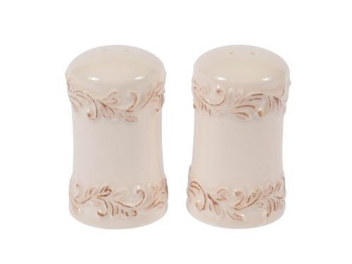 Ivory Rose 2-Pc. Antique Collection Salt And Pepper Shaker Set By L. Tremain-2 Pack