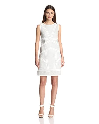 Elie Tahari Women's Mulberry Leather Shift Dress