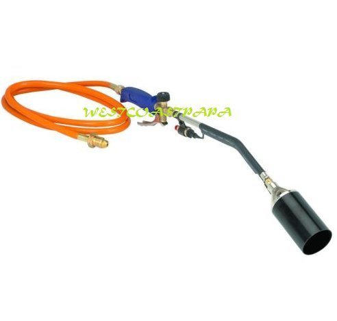 Propane Torch Wand Ice Snow Melter Weed Burner Roofing Push Button Igniter (Propane Melter compare prices)