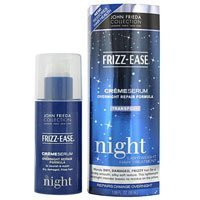 Frizz-Ease Creme Serum Overnight Repair formula by John Frieda for Unisex Serum, 1.69 Ounce