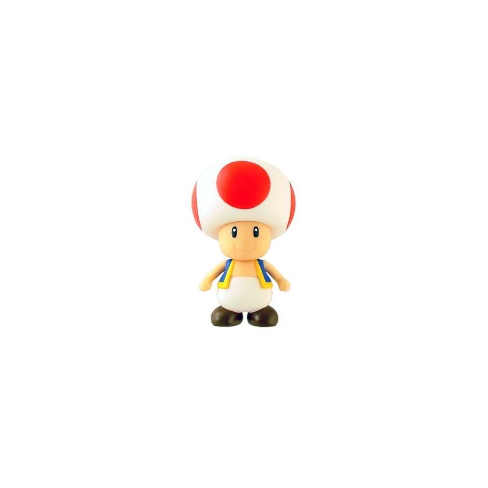 Nintendo Super Mario Bros. Sofubi DX Toad Figure