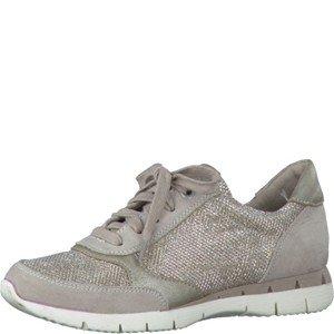 Marco Tozzi 22 43201 26 431, Sneaker bambine, Beige (Beige-Gold), 36 EU