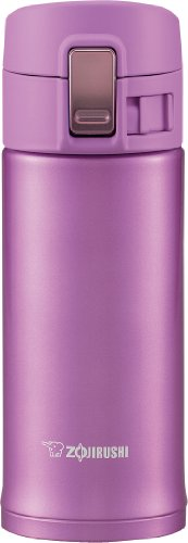 Zojirushi Sm-Kb36Vj Stainless Steel Travel Mug, 12-Ounce/0.36-Liter, Lilac back-577238