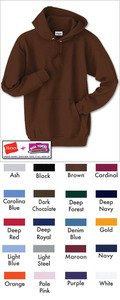 Hanes 7.8 oz COMFORTBLEND Fleece Pullover Hoodie P170, White, XL