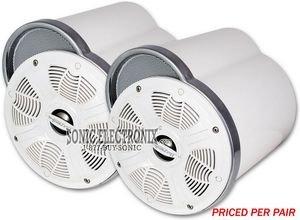 "Bazooka Marine Mt6502W White 6.5"" Wakeboard Tower Speaker System"