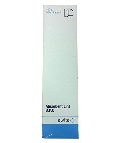 Alvita Absorbant Lint B.P.C 100g