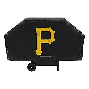 Pirates Economy Grill Cover (Pittsburgh Pirates Grill Cover compare prices)