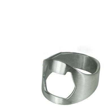 Apribottiglie acciaio INOX, lettera U)