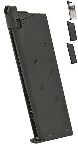 Evike Matrix 25 Round Detonics Magazine for Gas Powered Detonics .45 and Standard 1911 Airsoft Pistols - Black - (58600) (1911 Gas Magazine compare prices)