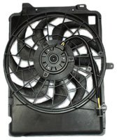 TYC 620640 Ford/Mercury Replacement Radiator/Condenser Cooling Fan Assembly from TYC