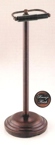 Taymor Oil Rubbed Bronze Pedestal Toilet Tissue Holder