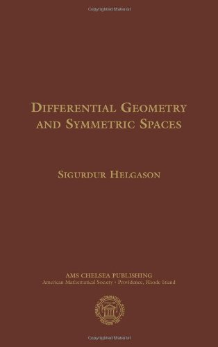 Differential Geometry and Symmetric Spaces (American Mathematics Society non-series title)