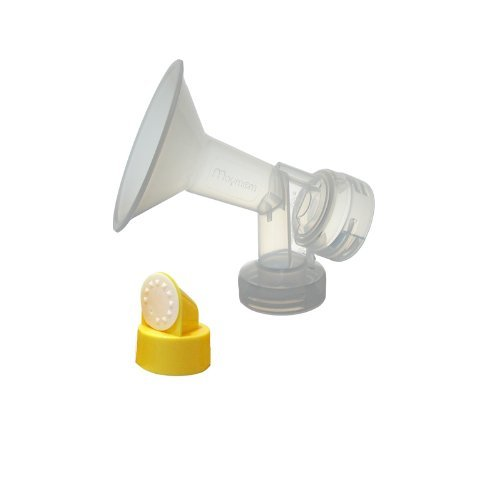 25 mm One-Piece Breastshield w/ Valve and Membrane for Medela Breast Pumps; Made by Maymom