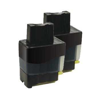 2x Brother DCP 340CN Kompatible Druckerpatronen - Schwarz