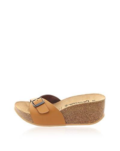 Bearpaw Sandalo Zeppa Venecia [Cuoio]
