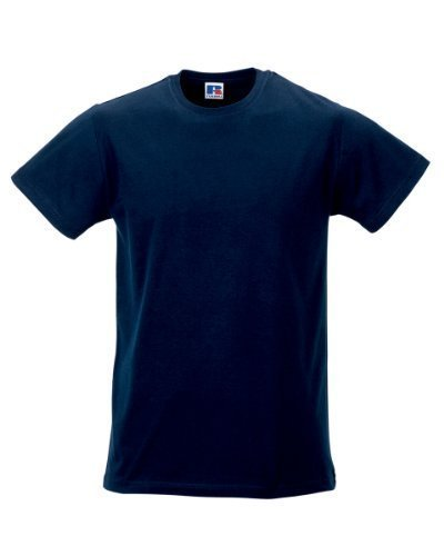 Russell da uomo Slim T-shirt french navy L