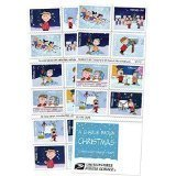 Charlie Brown Christmas USPS Forever Stamps, Book of 20