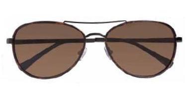 COLE HAAN Unisex CHS690/KH/58 Sunglasses, Khaki